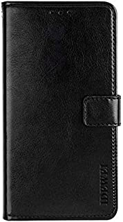 Case Compatible with Infinix S5,Leather Flip Wallet Case with Card Slot,Stand Holder and Magnetic Closure, Case for Infini...