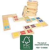 Small Foot 12032 Domino XXL Active aus FSC 100%-zertifiziertem Holz, Outdoor-Spiel für Erwachsene und Kinder AB 3 Juguete, Multicolor