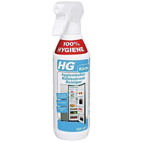 HG hygienischer Kühlschrank-Reiniger (1 x 500 ml) – ein Kühlschrank Reiniger für gründliche Sauberkeit und frischen Duft im Kühlschrank
