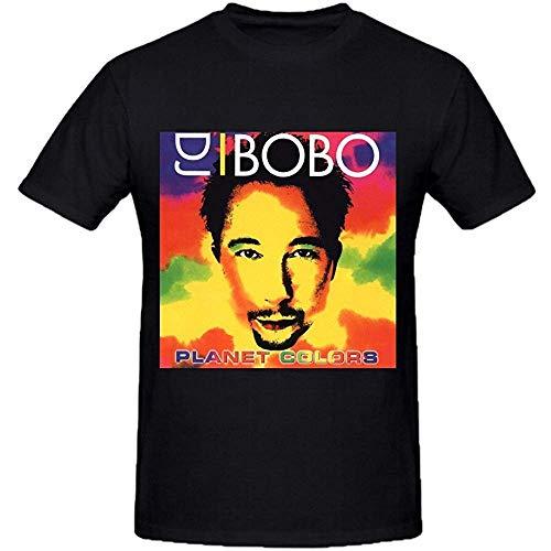 Dj Bobo Planet Colors Custom T Shirts Design Round Neck