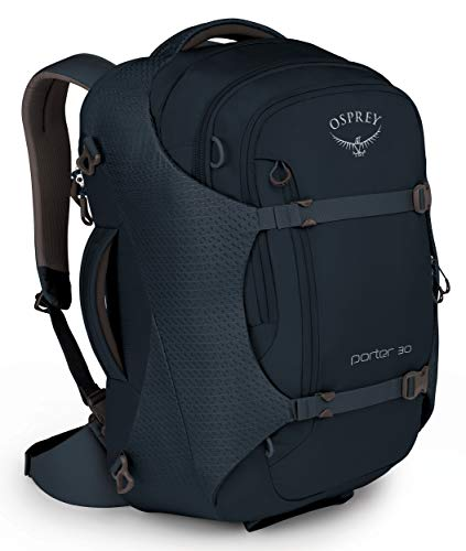 Osprey Packs Porter 30 Travel Backpack, Kraken Blue, Model:10002448