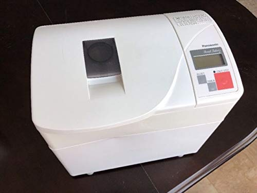 Panasonic SD-BT56P Automatic Bread Maker with Yeast Dispenser, and 13 Hour Automatic Timer,White