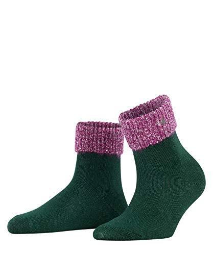 Burlington Damen Glitter W ShS Socken, grün (Forest 7450), Einheitsgröße (DE 36-41)