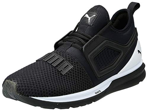 Puma Ignite Limitless 2, Zapatillas de Running Unisex Adulto, Negro Black White, 44 EU