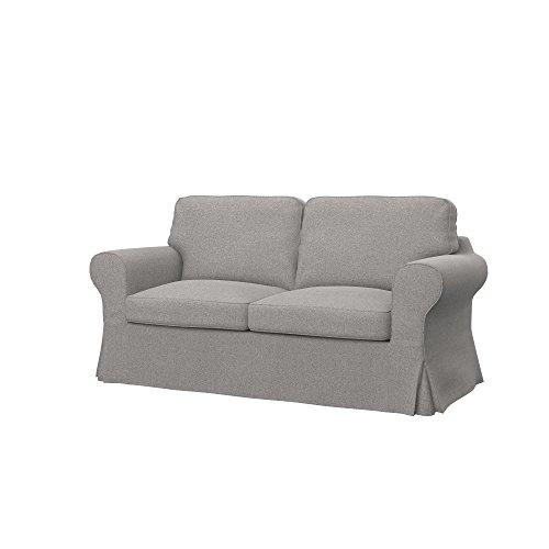 Soferia - Ikea EKTORP Fodera per Divano Letto a 2 posti, Glam Stone