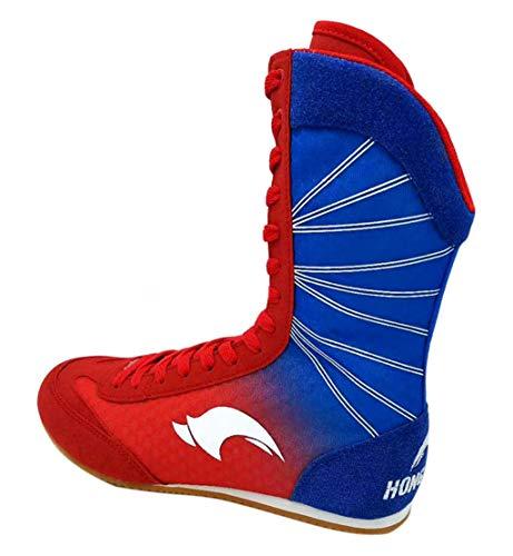 High Top Boxschuhe für Herren Damen Kinder, Atmungsaktive Boxer Stiefel