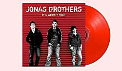 It\'s About Time - Exclusive Jonas Brothers Vinyl Club Deluxe Edition Red Colored Vinyl LP
