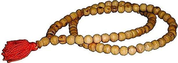 Style OK 2 Pieces 100% Original Tulsi Jaap Mala 108 Beads Rosary Basil Tulsi Chanting Mala