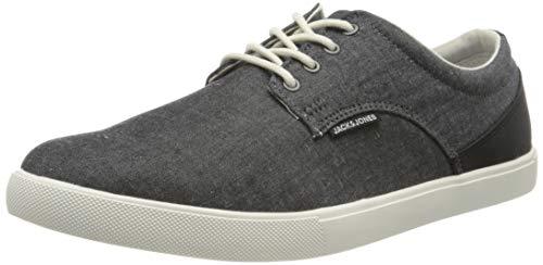 JACK & JONES Herren Jfwnimbus Chambay Mix Anthracite Pre Sneaker, Grau (Anthracite), 42 EU