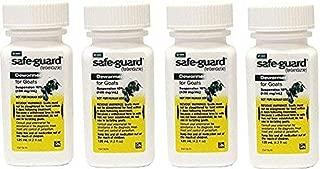 Safeguard Goat Wormer 125 mL 4 Pack