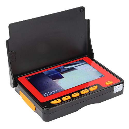 Cámara de serpiente ajustable, endoscopio de inspección, boroscopio LCD, para la industria automotriz Fácil de usar Cómodo(3m)