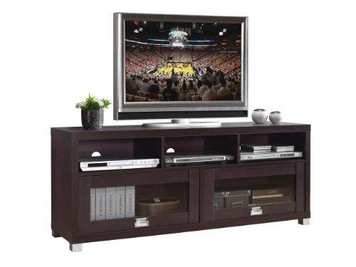 Techni Mobili Durbin TV Cabinet for TVs up to 65', Espresso