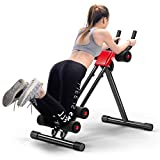 Appareil À Abdominaux Entraînement, Taille Pliable 5 Minutes Shaper Fitness Equipment Toner Body Exercise Machine avec LED Counter,...