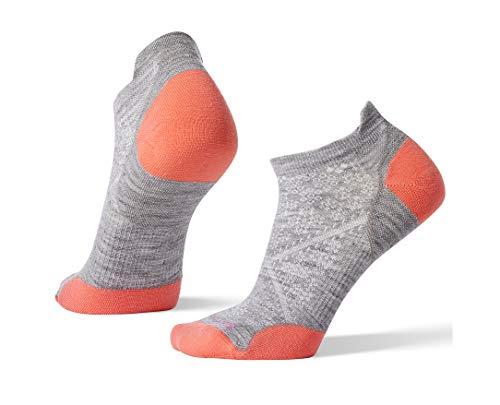 Smartwool PhD Outdoor Light Micro Socks - Women's Run Wool Performance Sock (LIGHT GRAY, S)