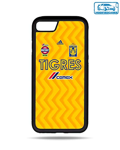 ModifiedCases 2019 Tigres Jersey Bumper Case Compatible with Apple iPhone 7/8