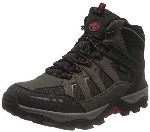 Rieker Herren F8820 Mode-Stiefel, schwarz Kombi, 45 EU