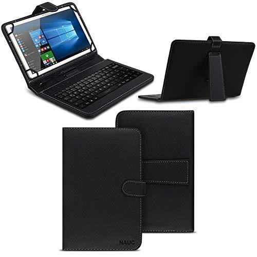 NAmobile Schutzhülle kompatibel für Wortmann Terra Pad 1006 Tastatur Hülle Tasche QWERTZ Keyboard USB Cover Hülle