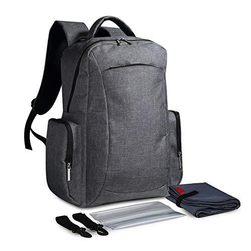 Bolso de la madre, bolso de la momia del hombro de nylon de gran capacidad Práctico multifuncional Cómodo para ir de compras para el viaje