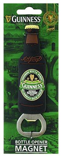 """Magnetischer Flaschenöffner als PVC-Flasche mit Aufdruck """"St James' Gate"""" - """"Guinness Ireland""""-Kollektion"""