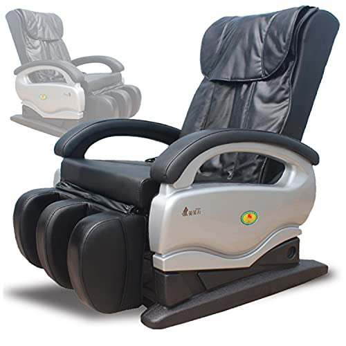 TEAMOR Home Theater 3D Massage Chair Recliner Lounge Armchair, with Leg Massage, Full Body Zero Gravity Massage Chair and Shiatsu Massage Recliner, Hip Heating, Foot Massage and air Pressure