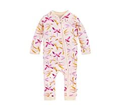 Distressed Stone Burts Bees Baby Baby Girls LY26886-IND-24M Toddler Layette Set 24 Months