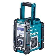 Makita DMR112 Battery Construction Site Radio 7, 2V - 18V met DAB+ en Bluetooth*