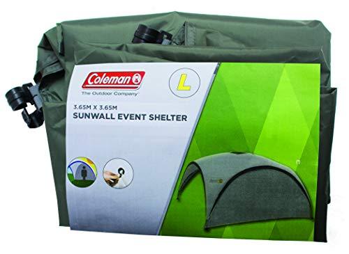 Coleman Event Shelter Sunwall, grün, 360 x 360 cm, 2000009776