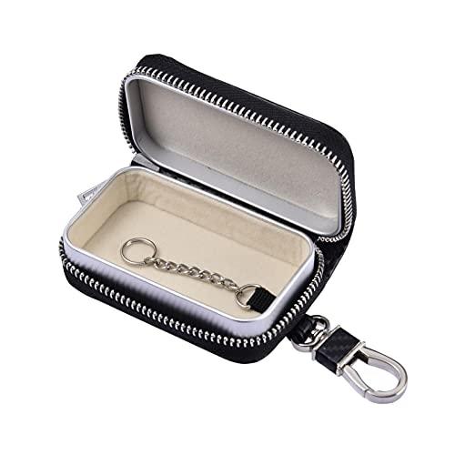 Autoschlüssel Signalblocker Tasche, Faraday Tasche Für Autoschlüssel, RFID Blocker Tasche Für Die Autosicherheit, Anti-Diebstahl-Fernzugang Smart Protection, Autoschlüsselschutz Für Schlüssellose Auto