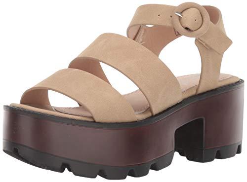 Coolway Damen ELSAS Sandale, beige, 38 EU