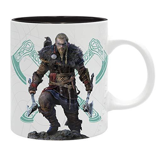 Assassin's Creed Valhalla Unisex Tasse multicolor Keramik Fan-Merch, Gaming, Ubisoft