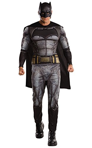 """Rubie's, costume da Batman ufficiale della DC Warner Bros, da adulto, dal film""""Justice League"""""""