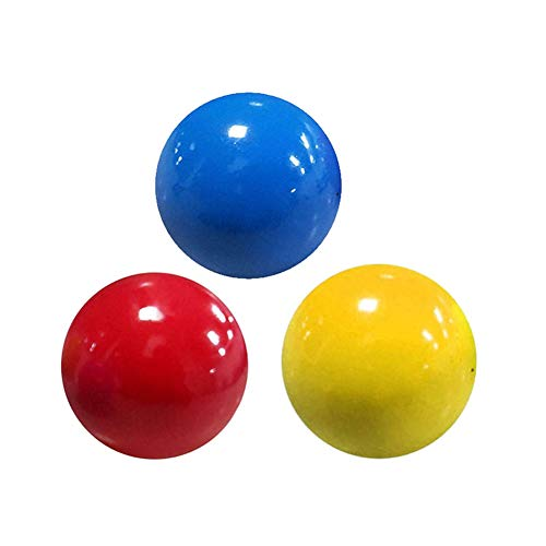 S-SNAIL-OO Fluorescent Sticky Target Anti Stress Reliever Balls, Globbles Squish and Fidget Toy, Anxiety Stress Toys Squish Balls, Globbles Sticky Balls That Gets Stuck on The Roof (3 pcs)