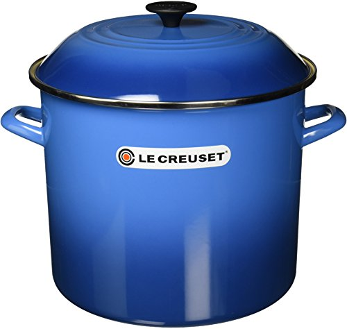 Le Creuset Enameled Steel 16-Quart Stock Pot with Lid