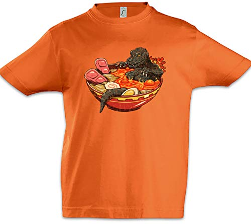 Urban Backwoods Ramen Lava Jungen Kinder Kids T-Shirt Orange Größe 6 Jahre