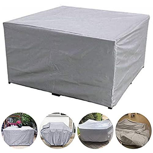 CO&CO wasserdichte Terrasse Im Freien Gartenmöbel Deckt Regenschnee-stuhlabdeckungen Für Sofa-tischstuhl Staubschutz(Size:230 * 165 * 80cm)