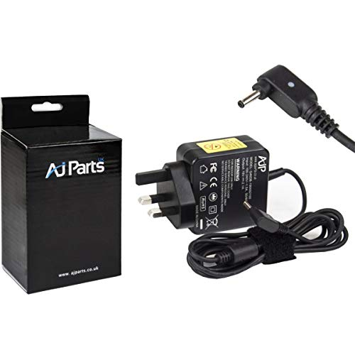 AJP@ New Replacement For LG Gram 15Z970-G.AA76C Laptop Tablet Adapter 40W Battery Charger Power Supply with 3.0mm x 1.0mm Pin Size UK Wall Plug 19V 2.1A PSU Adaptor