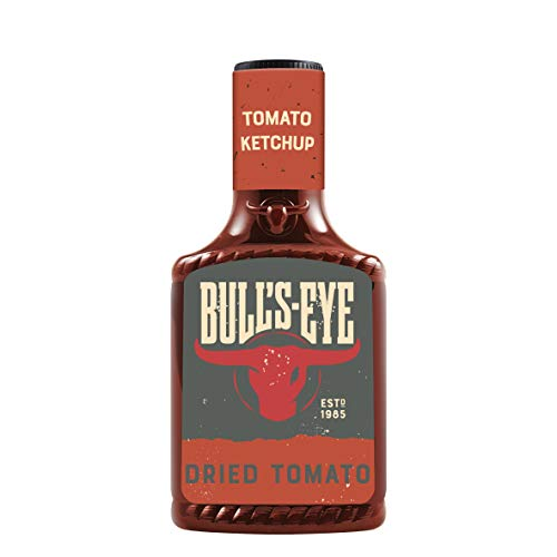 Bull's Eye Tomato Ketchup Dried Tomato, Getrocknete Tomaten, Squeezeflasche, 8er Pack (8 x 425 ml)