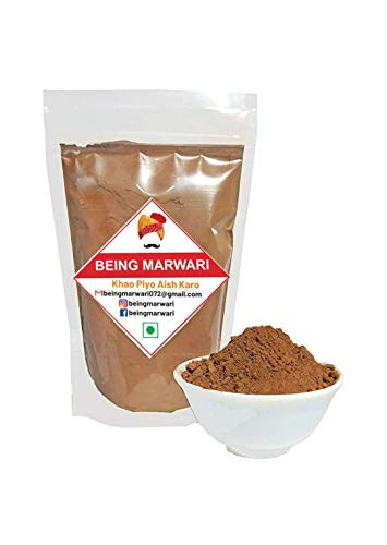 Being Marwari Cocoa Powder for Cake Making Dark (Natural,Unsweetened,Vegan & Gluten Free), 100g