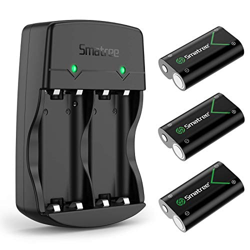 Smatree Rechargeable Battery Compatible with Xbox Series X|S/Xbox One/Xbox One S/Xbox One X/Xbox One...