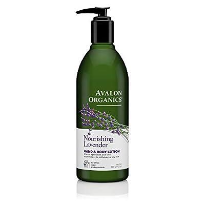 Avalon Organics Nourishing Lavender Hand & Body Lotion, 12 oz. (Pack of 2)