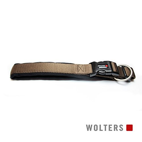 Wolters | Halsband Professional Comfort in Tabac/Schwarz | Halsumfang 30 - 35 cm