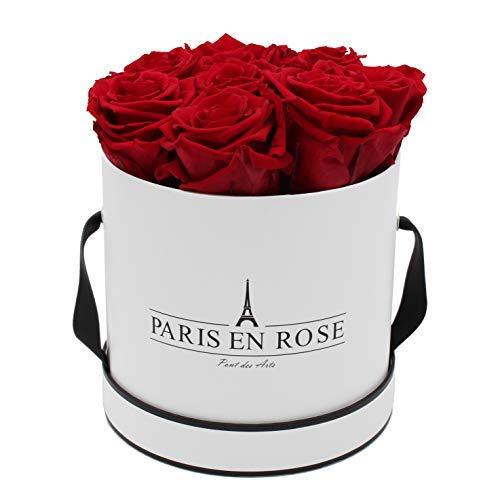 PARIS EN ROSE Rosenbox Pont des Arts Bijou | 3 Jahre haltbar...