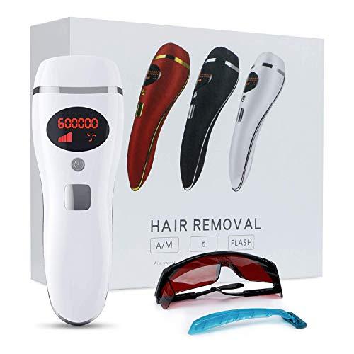 IPL-Epilierer, Frauen dauerhaften Haarentfernung Systeme 600,000 Blitze HeimgebrauchSchmerzlos Laser Haarentfernungsgerät