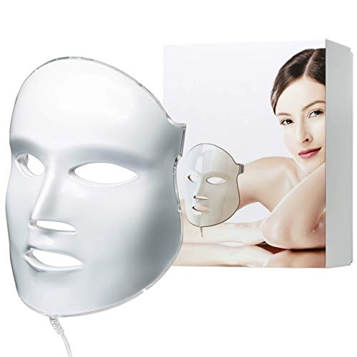 FDA cleared|Aphrona LED Facial Skin Care Mask Light Treatment LED Mask