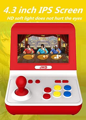 JXD Nueva Nostalgia clásica Big Rocker Retro Mini Consola de Arcade Dual-Core...