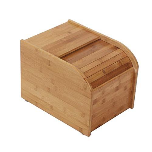 ZXL graanhouder voor het opbergen, rijstkoker voor huishoudelijk gebruik, bamboe, 5 KG10KG15KG, bewaarbox voor rijst en vocht voor keuken (afmetingen: C-15 kg)