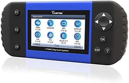 OBD2 Scanner VT600 Freeze Frame Live Data I M Readiness OBDI OBDII EOBD Code Reader ABS Bleeding product image