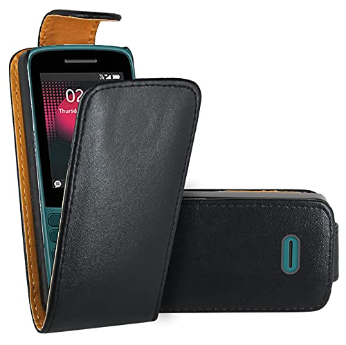 WenTian Nokia 215 4G (2020) Handy Hülle, Hüllen Etui Ledertasche Premium Lederhülle Schutzhülle für Nokia 215 4G (2020)