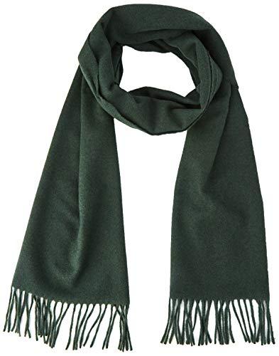Gant Solid Wool Scarf Bufanda, Verde (Tartan Green 374), Talla única (Talla del fabricante: Oversize) para Hombre