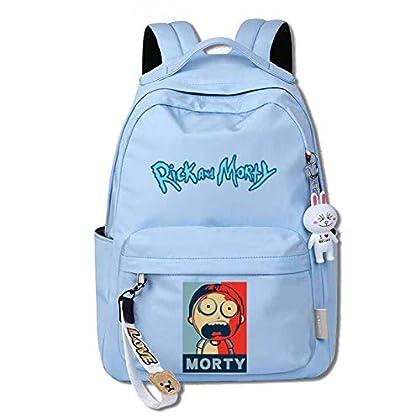 ¡Mira Morty, ahora somos bolsos!